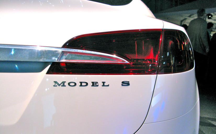 Uppsala Taxi kör Tesla, dock inte den på bilden. Foto: CC-BY Steve Jurvetson, flickr.com