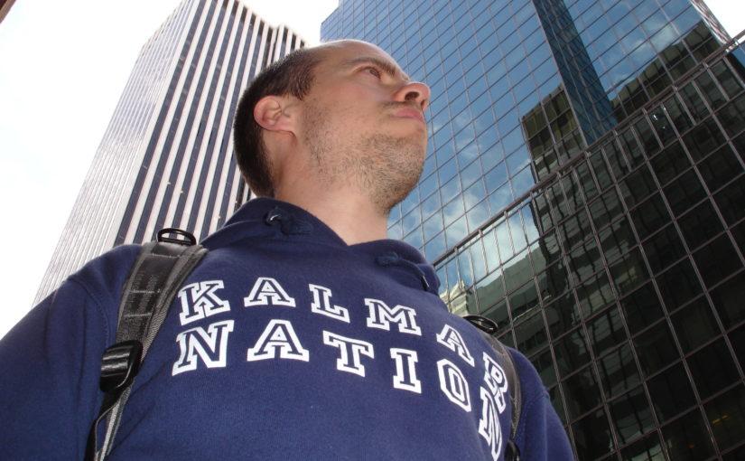 Bloggförfattaren förra gången det begav sig till New York. Foto: Hanna Hård af Segerstad